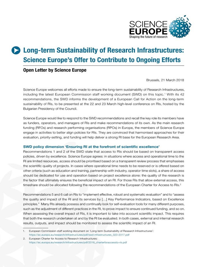 Our resources - Science Europe